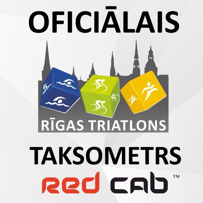 Red Cab - Riga Triathlon 2015 oficiālais taksometrs!