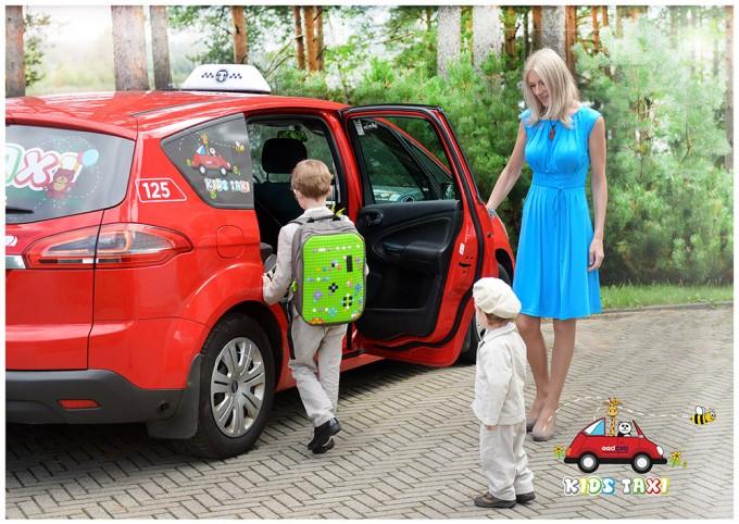 Sācies skolas laiks, tādēļ aktuāli taksometri bērniem.