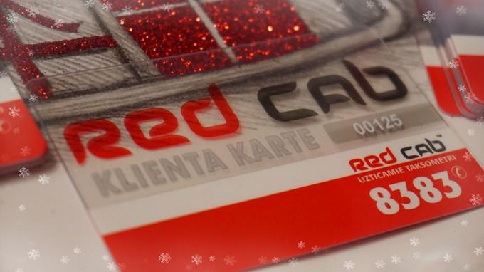 Reģistrējies lojalitātes karteiredcab.lvun brauc lētāk!