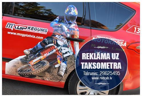 reklāma taksometros