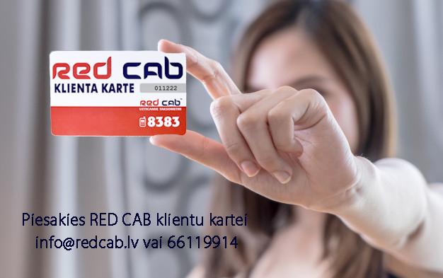 Kļūsti par Red Cab biznesa klientu.