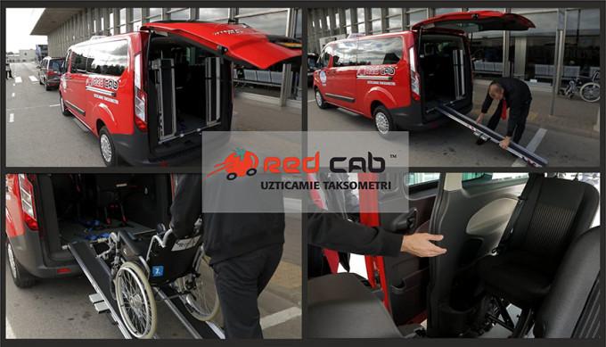 Red Cab jaunie taksometri cilvēkiem ratiņkrēslos veiksmīgi uzsākuši savas gaitas....