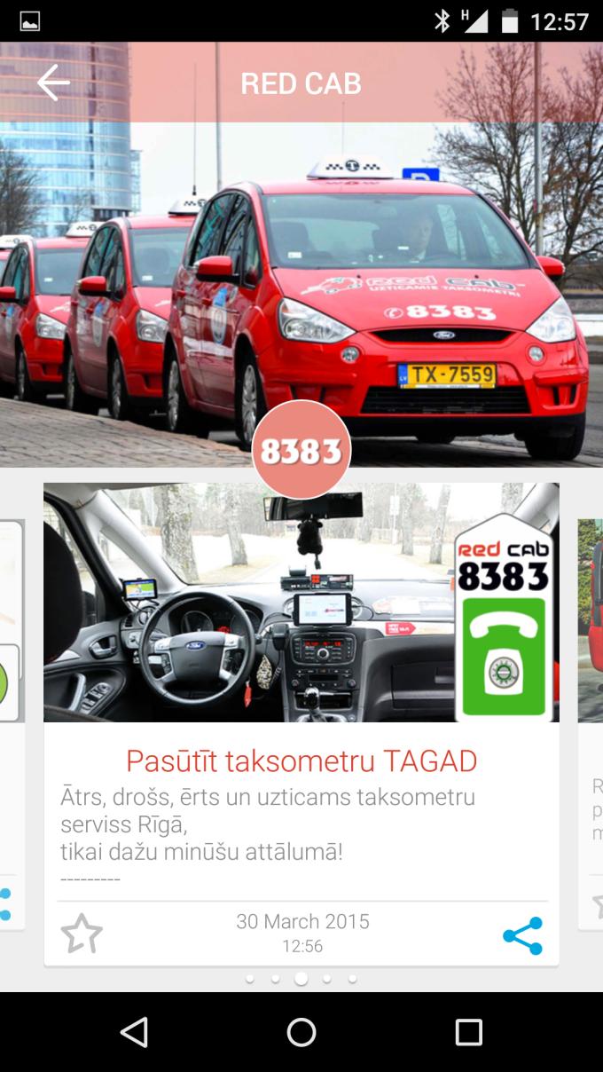 Ar KNOQ mūsu taksometri būs vienmēr Tev līdzās!